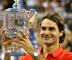 photo Roger Federer gagne l'US Open 2008