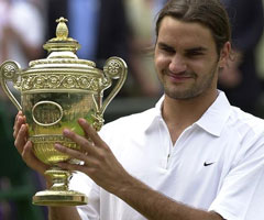 photo Roger Federer gagne Wimbledon 2003