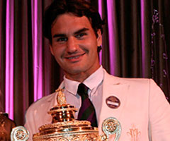 photo Roger Federer gagne Wimbledon 2006
