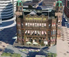 photo Rotterdam en 3D dans Google Earth