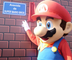 photo La rue Super Mario Bros en Espagne (Avenue Super Mario Bros)