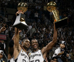 photo San Antonio Spurs champion NBA saison 1998 1999