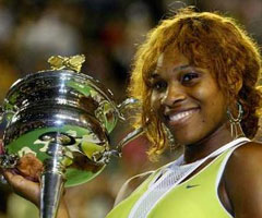 photo Serena Williams gagne l'Open d'Australie 2005