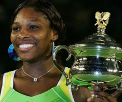 photo Serena Williams gagne l'Open d'Australie 2007