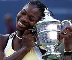 photo Serena Williams gagne l'US Open 1999
