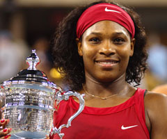 photo Serena Williams gagne l'US Open 2008