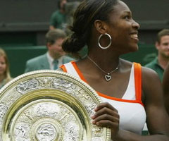 photo Serena Williams gagne Wimbledon 2003