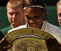 photo Serena Williams gagne Wimbledon 2010