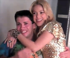 photo Shakira rencontre Shakiro (Rodolfo Burgos)