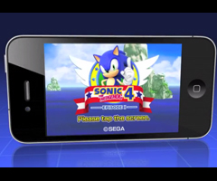 photo Sonic 4 Episode 1 sur iPhone en vidéo