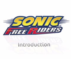 photo Sonic Free Riders sur Xbox 360 et Kinect