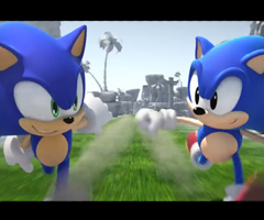 photo Sonic Generations, 2 jeux en 1 : Gameplay Old school ou Next gen