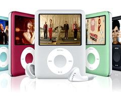 photo Sortie iPod Nano