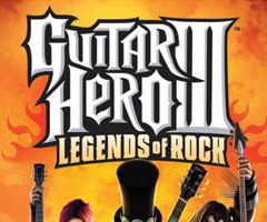 photo Sortie Guitar Hero 3 legends of Rock sur Xbox 360