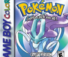 photo Sortie Pokémon Cristal sur GameBoy