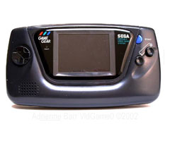 photo Sortie Sega Game Gear