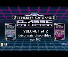 photo Sortie de Sega Megadrive Classic Collection 1 et 2 sur PC