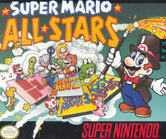 photo Sortie Super Mario All Star sur Super Nintendo