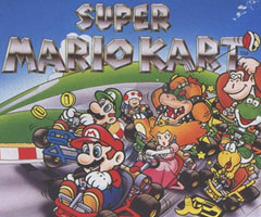 photo Sortie Super Mario Kart sur Super Nintendo