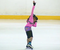 photo Starr Andrews prodige du patinage artistique