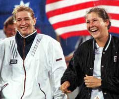 photo Steffi Graf gagne l'US Open 1996
