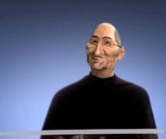 photo Steve Jobs dans Les Guignols
