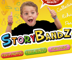 photo StoryBandz.fr les bracelets à collectionner