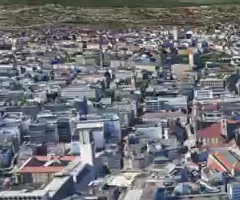 photo Stuttgart et Berlin en 3D sur Google Earth