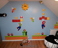 photo Super Luca Nintendo Room