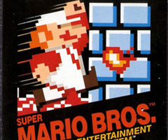 photo Super Mario Bros sur NES