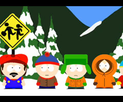 photo Super Mario dans South Park