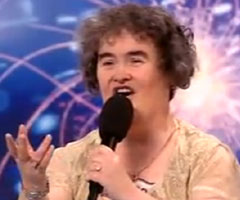 photo Susan Boyle chante Cry Me A River Charity