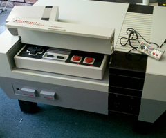 photo La table de salon Nintendo NES