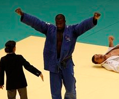 photo Teddy Riner champion du Monde de Judo 2010
