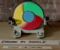 photo Test de vitesse du navigateur Google Chrome
