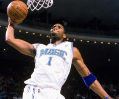 photo Tracey McGrady marque 62 points contre Washington Wizards