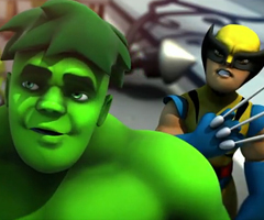 photo Trailer MMO de Marvel : Super Hero Squad Online