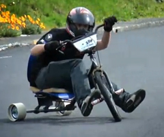 photo Trike Drifting le nouveau sport