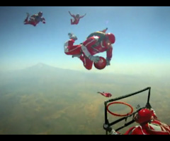 photo Turkish Airlines dunk dans le ciel