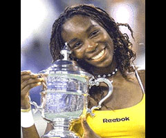 photo Venus Williams gagne l'US Open 2000