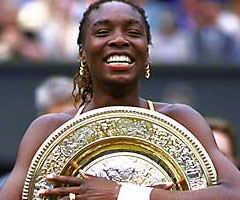 photo Venus Williams gagne Wimbledon 2000