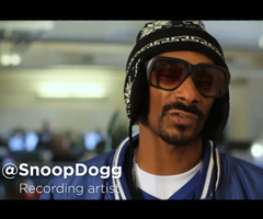photo Yelle, Snoop Dogg, Serena Williams, Richard Branson, Hillary Clinton dans un spot pour les 5 ans de Twitter