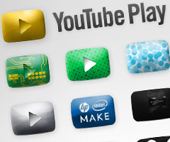 photo YouTube Play chaîne YouTube dédiée aux artistes