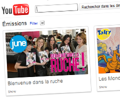 photo YouTube Shows la TV Replay de YouTube