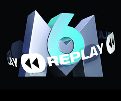 Logo M6Replay