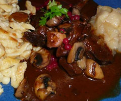 Recette daube de biche