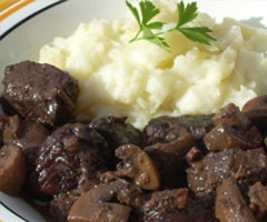 Recette daube de cerf
