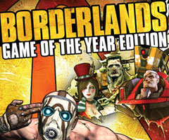 Jeu Borderlands GOTY Xbox 360