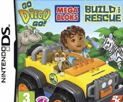 Go Diego Go ! Mega Bloks Build and Rescue Nintendo DS