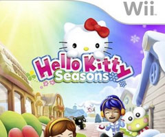 Jeu Hello Kitty Seasons Wii